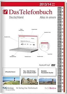 Das Telefonbuch. Deutschland Herbst/Winter 2013/14  inkl. Rückwärtssuche
