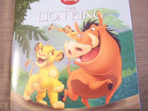 "Disney The Lion King (2009) (8"" x 8"" Paperback)"