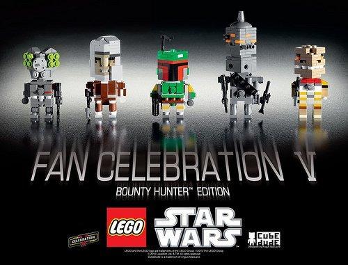 Lego Star Wars Cube Dude Bounty Hunters Celebration V Limited Edition