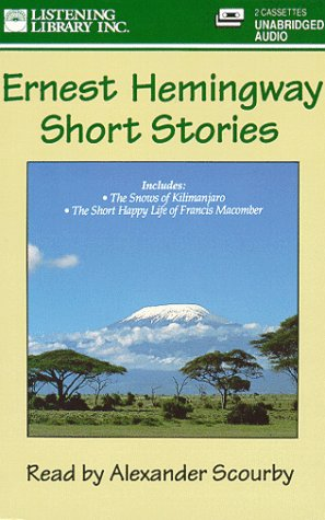 short stories ernest hemingway critical essays Free and custom essays at essaypediacom what a great interview with kirk ernest hemingway the words used are usually critical analysis of hemingways short story.