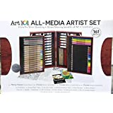 Art 101 All Media Artist Painting Drawing Set 162 Pieces Colored Pencils Gift