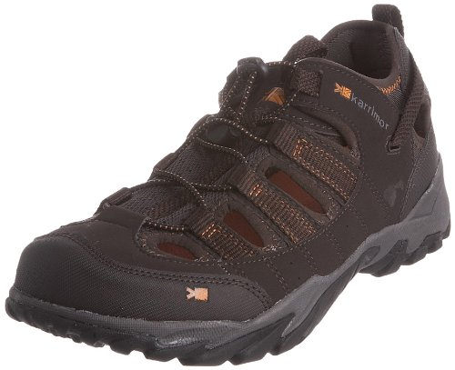 Karrimor Men's Hydro II Brown/Orange Closed-Toe Sandal K370BRO159 11 UK