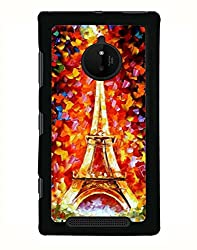 Aart Designer Luxurious Back Covers for Nokia 830 + 3D F1 Screen Magnifier + 3D Video Screen Amplifier Eyes Protection Enlarged Expander by Aart Store.