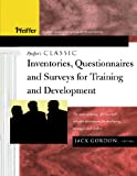 img - for Pfeiffer's Classic Inventories, Questionnaires, and Surveys for Training and Development: The Most Enduring, Effective, and Valuable Assessments for Developing Managers and Leaders book / textbook / text book