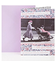 Ladies Wheelchair Friend Birthday Greetings Card
