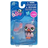 Littlest Pet Shop Get The Pets Single Figure Purple Swan Special Edition Pet!