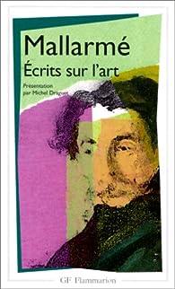 Écrits sur l'Art par Stéphane Mallarmé