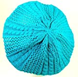 Pattern Knit Beret by CTM