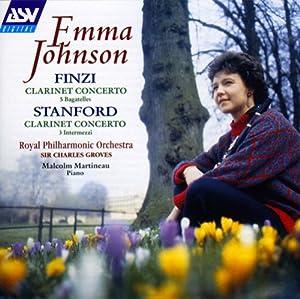 Finzi: Clarinet Concerto, 5 Bagatelles / Stanford: Clarinet Concerto, 3 Intermezzi