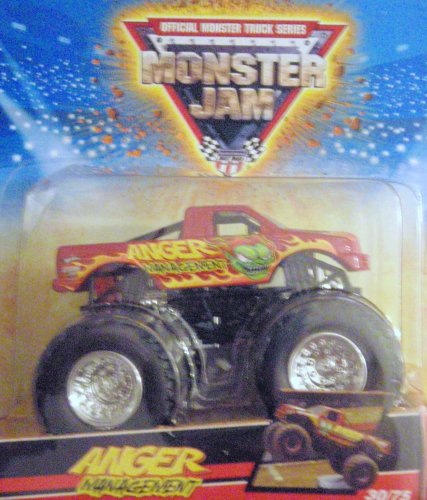 Hot Wheels Monster Jam ANGER MANAGEMENT 30/75 Scale 1:64 [Toy]
