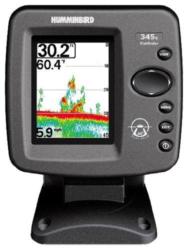 Humminbird 345cx Fishfinder - Colour Display c/w Dual Beam Transducer