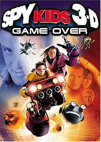 Cover art for  Spy Kids 3-D Game Over (Two-Disc Collector's Series)