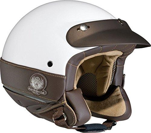 Casque moto NEXX X60 TRIBUTE - L - Blanc/Marron