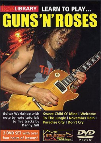 Learn To Play Guns 'N' Roses [DVD]