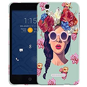 Theskinmantra Fashion Girl back cover for Micromax Yu Yureka