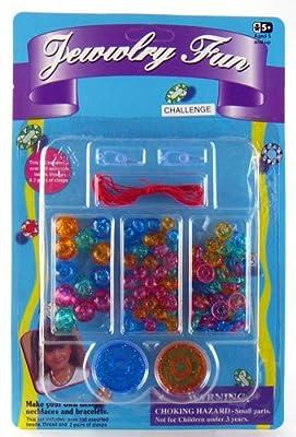 1 dozen (12 pcs) Jewelry Fun Beads Set from W.H. Toys