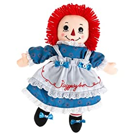 Raggedy Ann Doll with Certificate of Authenticity