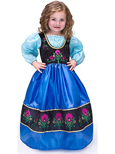 Scandinavian Princess Costume Dress-up Gown