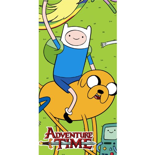 Adventure Time Plastic Table Cover (1ct)