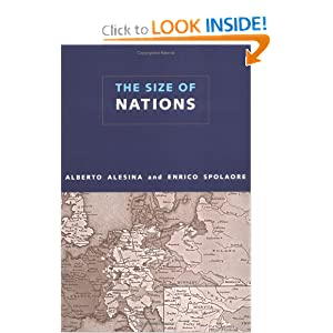 The Size of Nations Alberto Alesina and Enrico Spolaore