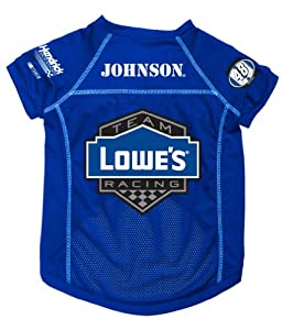 Dog Zone NASCAR Pet Football Jersey, Medium, Jimmie Johnson by Dog Zone