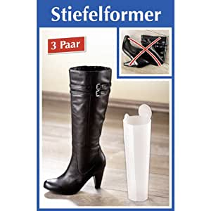 Stiefelformer Stiefelspanner 3 Paar
