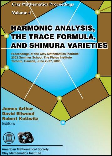 Harmonic Analysis, the Trace Formula, and Shimura Varieties