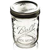 Ball Mason Jars Wide-Mouth Can or Freeze -  16 oz 12pk