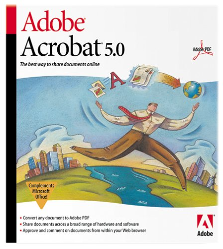 Adobe Acrobat 5.0 Upgrade