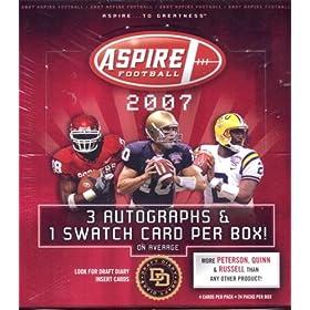 【クリックでお店のこの商品のページへ】Amazon.co.jp | NFL 2007 SAGE ASPIRE FOOTBALL | おもちゃ 通販