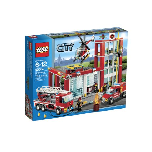 LEGO City Fire Station 60004 Amazon.com