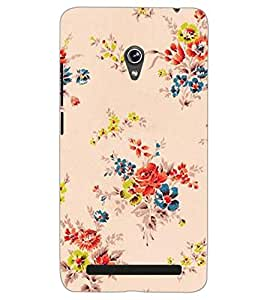 ASUS ZENFONE 6 A601CG FLOWERS Back Cover by PRINTSWAG