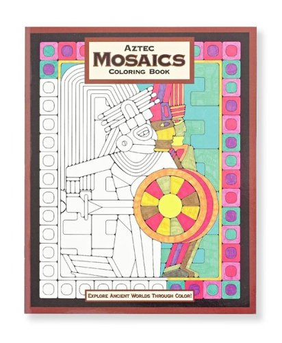 Mind Ware Aztec Mosaic Coloring Book - 1
