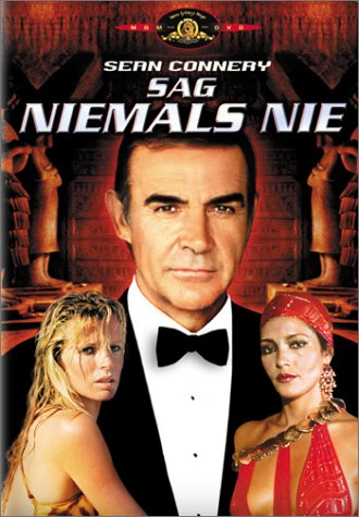 James Bond 007 - Sag niemals nie [VHS]