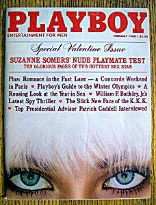 1980 February Playboy Magazine