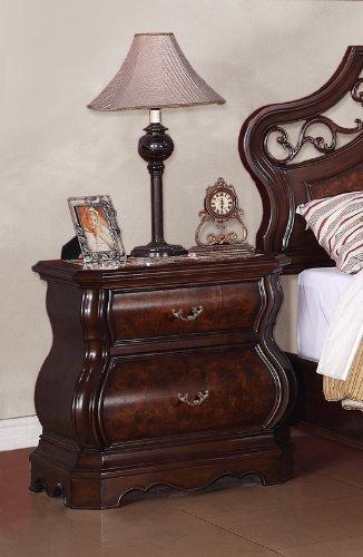 Ash Bedside Table 7755 front