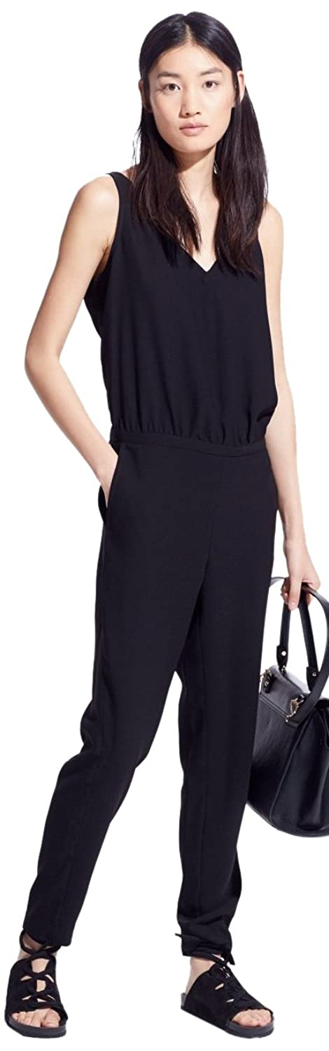 Mango Women's Back Vent Jumpsuit