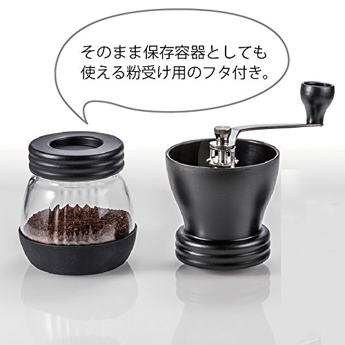 Hario Ceramic Coffee Mill Skerton Storage Capacity 100g