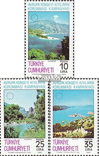 Türkei 2640-2642 (kompl.Ausg.) postfrisch 1983 Europarat-Kampagne (Briefmarken für Sammler)