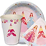 Meri Meri Princess 7 Inch Small Plates 12 Pack