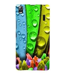 Multicolour Flower 3D Hard Polycarbonate Designer Back Case Cover for Lenovo K3 Note :: Lenovo A7000 Turbo