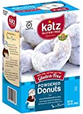 Gluten Free Powdered Donuts, 10.5 Ounce, Certified Gluten Free - Kosher - Dairy, Nut & Soy free - From Katz Gluten Free (Pack of 1)