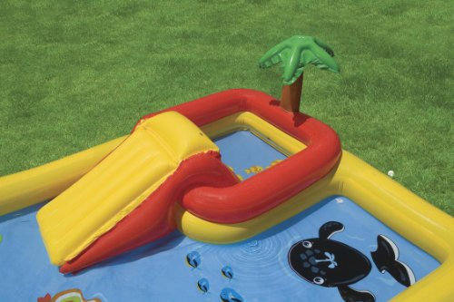 Intex Ocean Inflatable Play Center, 100″ X 77″ X 31″, for Ages 2+