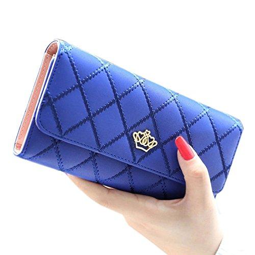 ankko-borsa-tote-pu-pelle-moda-donna-signora-portafoglio-corona-blu