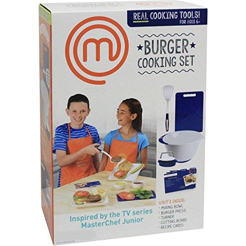 Masterchef junior pizza baking breakfast and burger for Cooking kitchen set