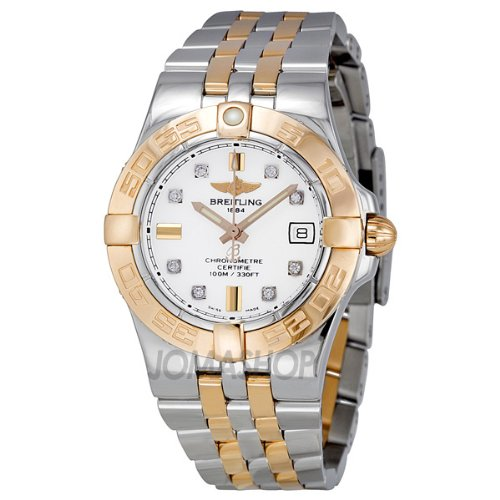 Breitling Women's C71340L2/A715TT Galactic 30 White Dial Watch