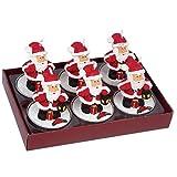 Legler 2446 - Lumini «Babbo Natale» (Set da 6)