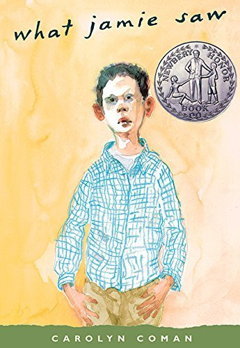 a review of carolyn comans book what jamie saw What jamie saw / having fled review by booklist review gr 6-9-bronson pinchot provides a chilling performance of carolyn coman's newbery honor book.