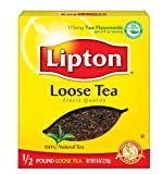 Lipton Black Tea, Loose, 1/2 pound Box