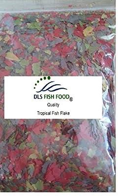 DLS Fish Food Quality Tropical Fish Flake With Vitamins 100g